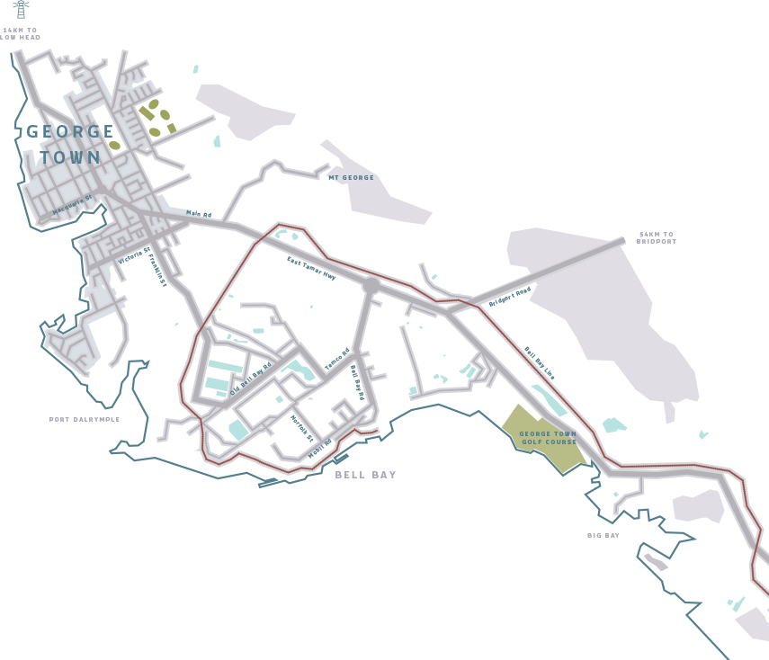 Bell Bay Advanced Manufacturing Zone - Zone Map